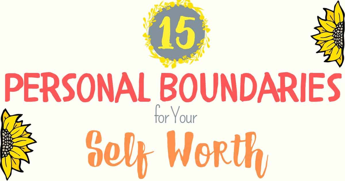 Personal Boundaries Feature Image