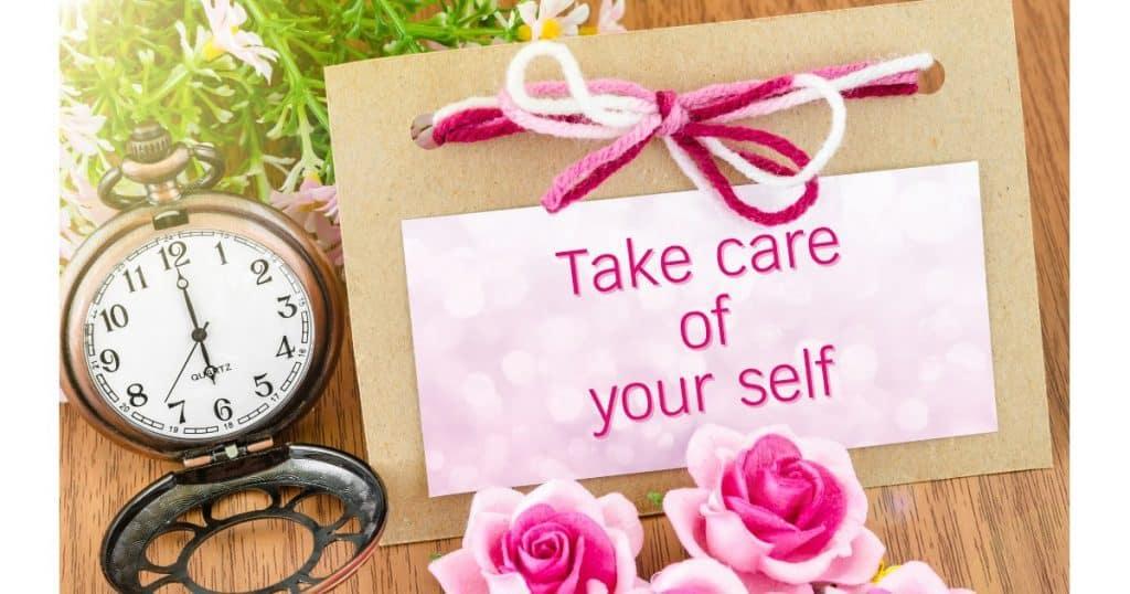 self care that isn't cliche