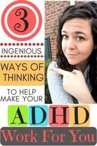 The 3 best mindset shift that can really help you make ADHD work for you. The question to ask yourself has been a game changer is being more productive!