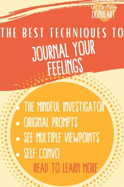 4 Different ways to Journal Your Feelings in ways that Actually Work!