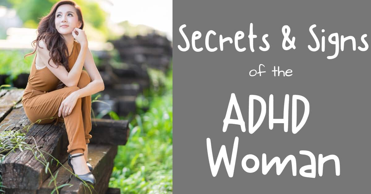ADHD woman feature image