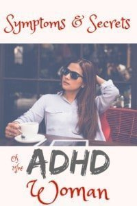 symptoms of ADHD women