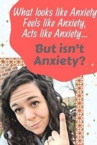 ADHD not Anxiety