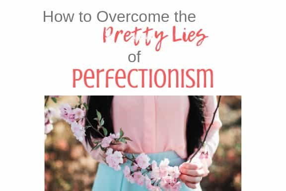 stop being perfectionist