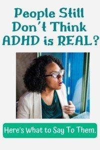ADHD is Real Pin