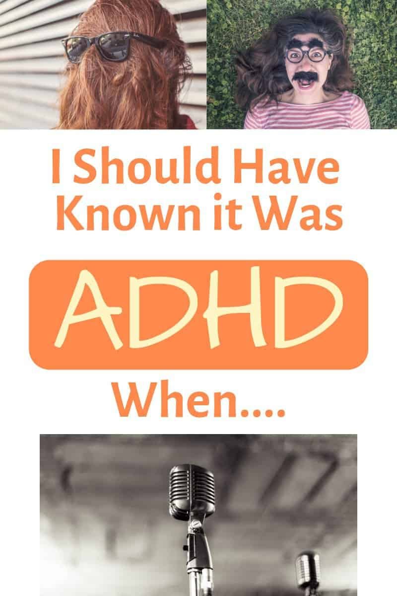 Should have known ADHD problems pin