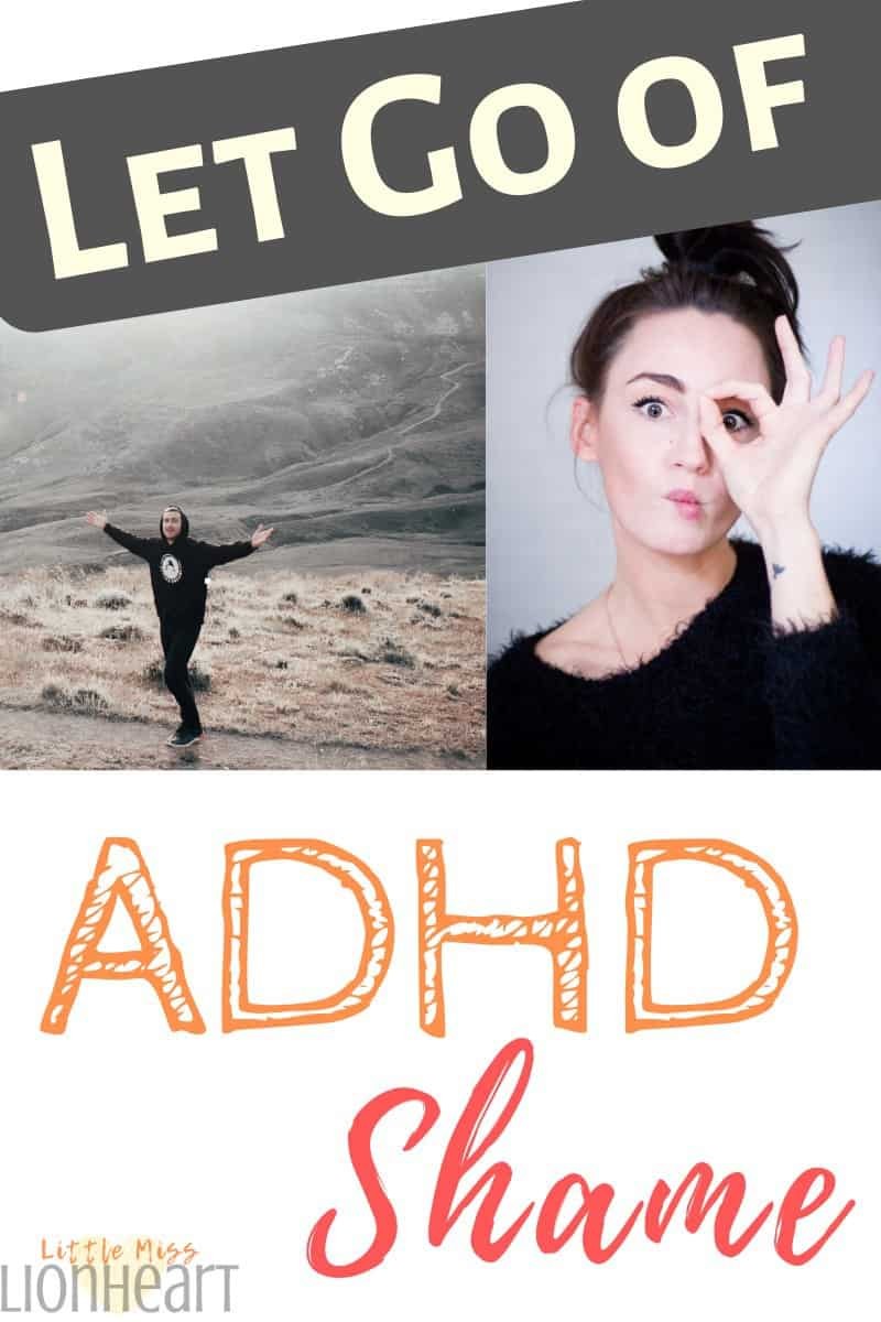 ADHD problem with shame pin