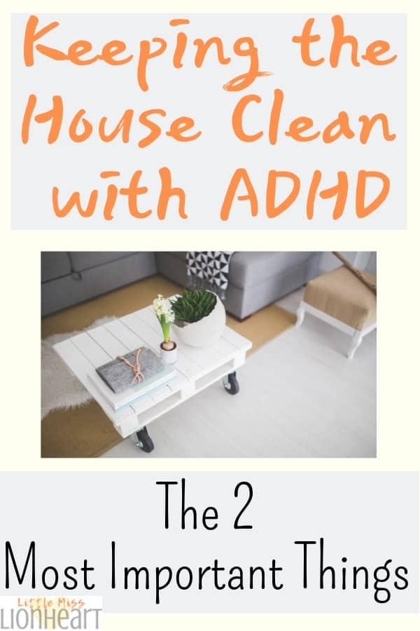 Tips to keep ADHD home organized