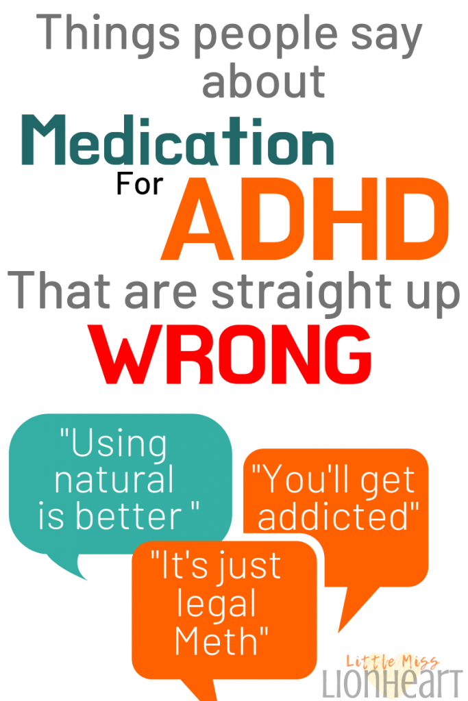 Common myths for ADHD Medication