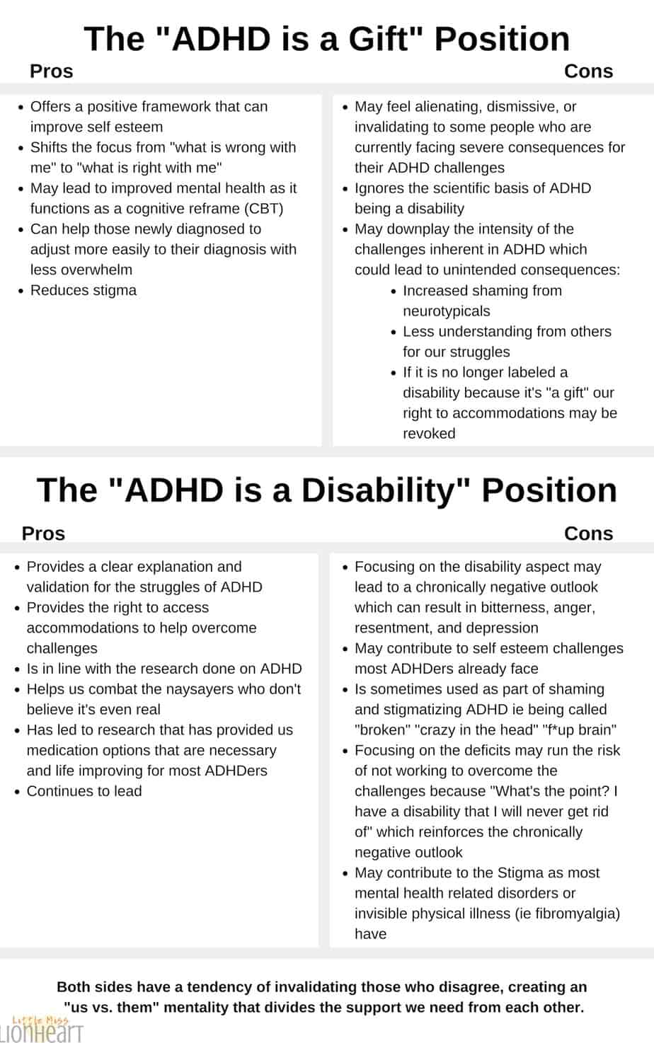 ADHD disorder, disability, gift