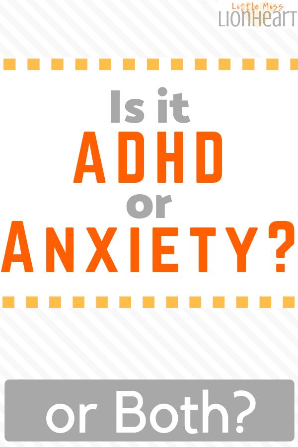 ADHD or Anxiety Pin