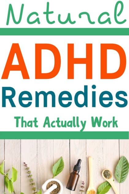 Natural ADHD Remedies that actually work? Yes, these natural ADHD treatments have some science behind them!