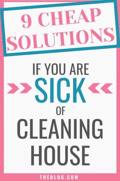 9 cheap products that everyone who hates cleaning desperately needs. They practically clean the house FOR YOU.If you are messy like me, have ADHD like me, or just really hate to clean, these products make life so much easier by helping you keep the house clean so you can do literally anything other than CLEAN House!