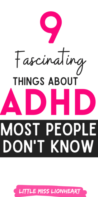 things about ADHD most people don't know