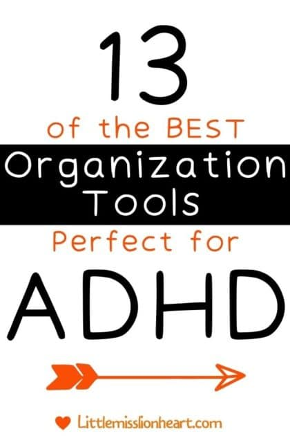 13 of the best Organizational Tools perfect for people with ADHD